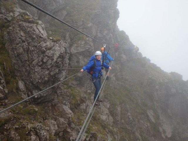 Klettersteig Kanzelwand : Zweiländerklettersteig kanzelwand wanderfreunde calmbach höfen